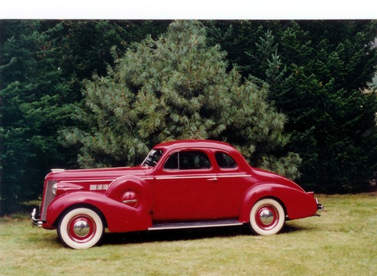 Cliff and Doreen Humphries's 1937 Model 46S